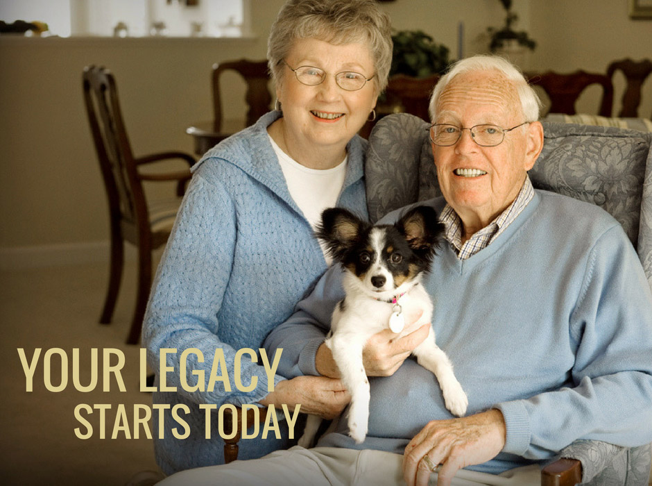 Your legacy starts today (planned giving)
