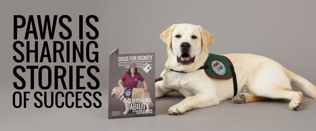 Paws is sharing stories of success