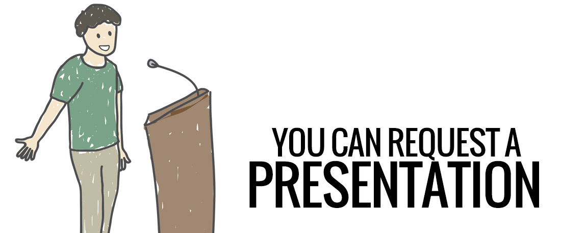 You can request a presentation