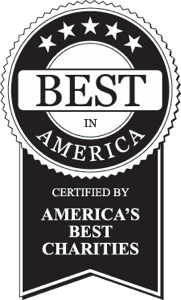 5-star best in America certified by Independent Charities of America